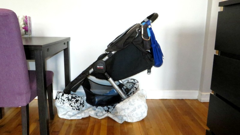 Image For Mom Approved Tips For Storing Strollers Indoors Article