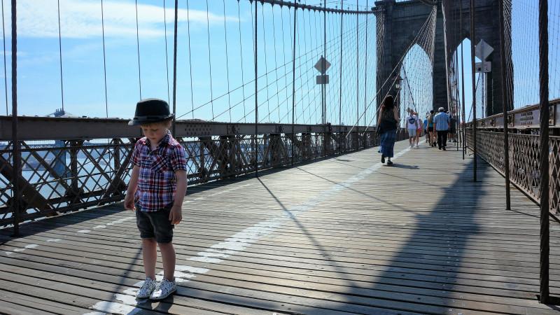 A Kid Friendly Guide To Walking The Brooklyn Bridge Mommy Nearest