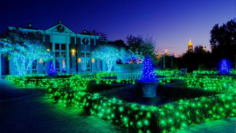 Atlanta Botanical Garden S Lights Holiday