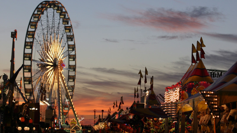 Carnival at Houston Rodeo