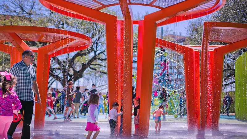 best splash pads houston
