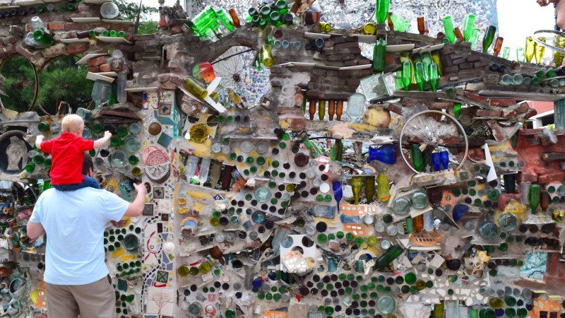 image for you have to visit philadelphias magic gardens with your kids article - Magic Garden Philadelphia