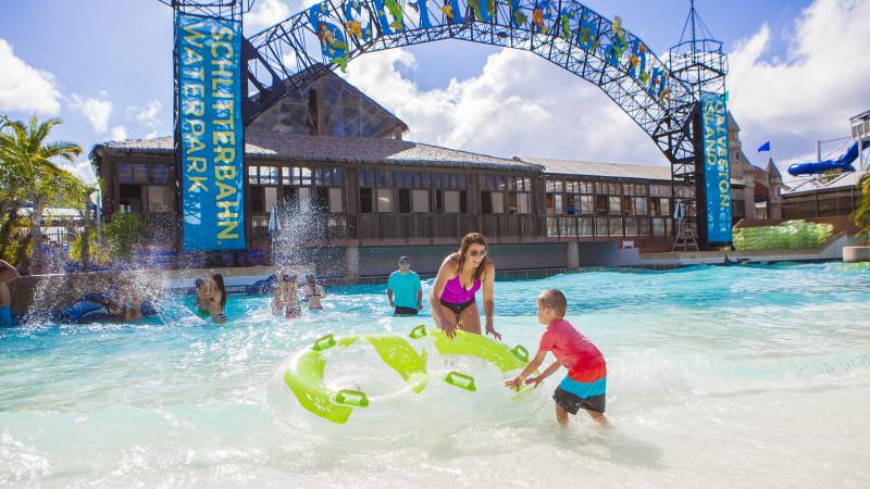 Schlitterbahn water park Galveston