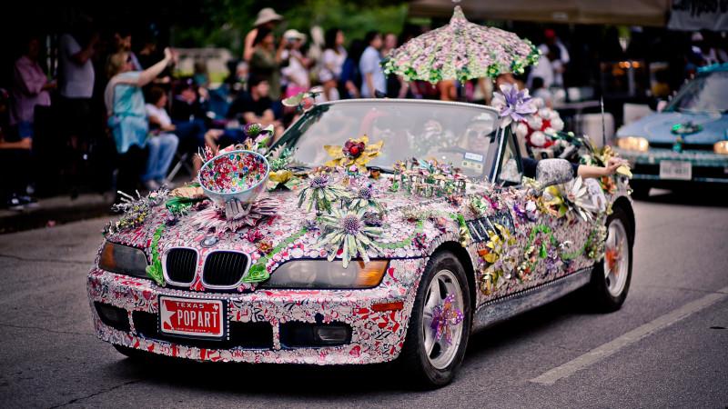 Art Car Parade Houston Texas