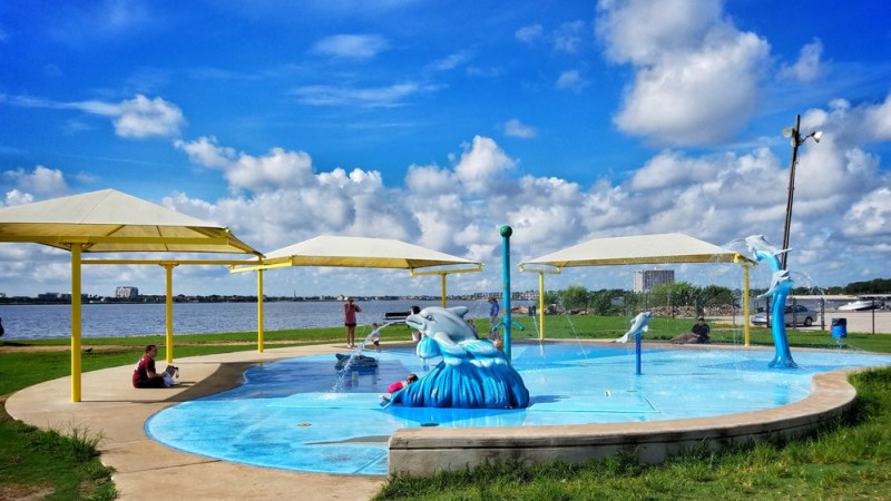 Image result for Clear Lake Park splash pad