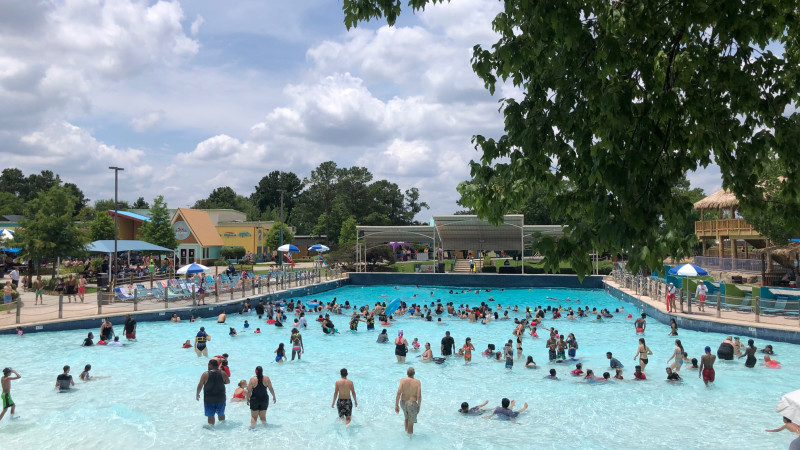 Six Flags Hurricane Harbor Splashtown is Now Houston's Biggest Water Park