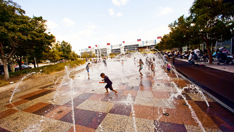 Image result for discovery green splash pad