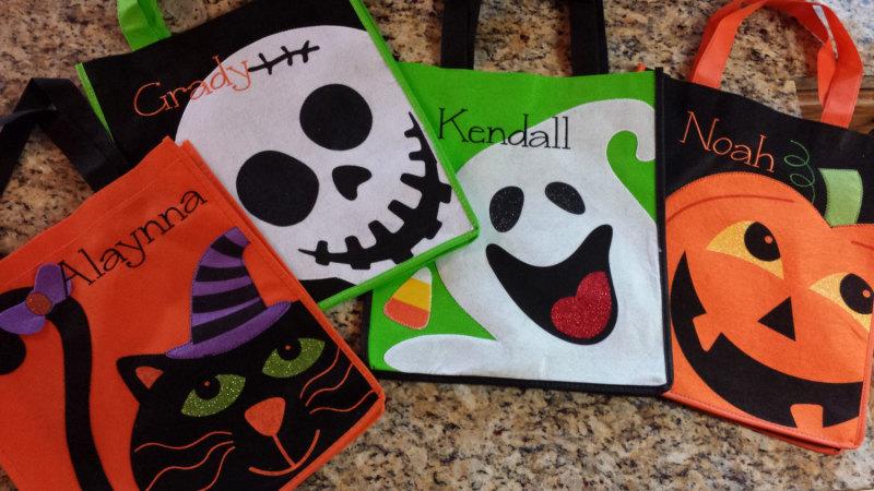 Halloween Bags Kids Cute Spooky Halloween Trick or Treat