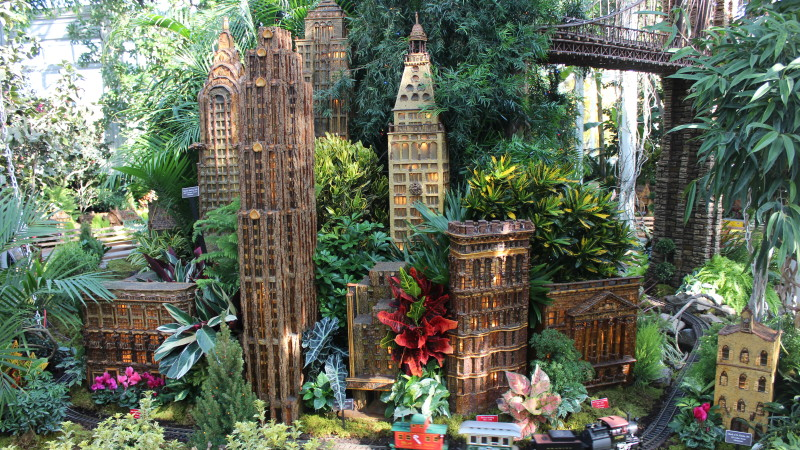 Image For NYBGu0027s Holiday Train Show Celebrates Its 25th Anniversary Article