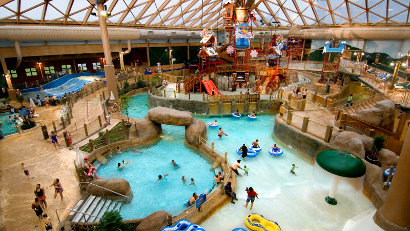 Indoor water park near me
