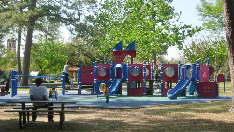 Hermann Park playground