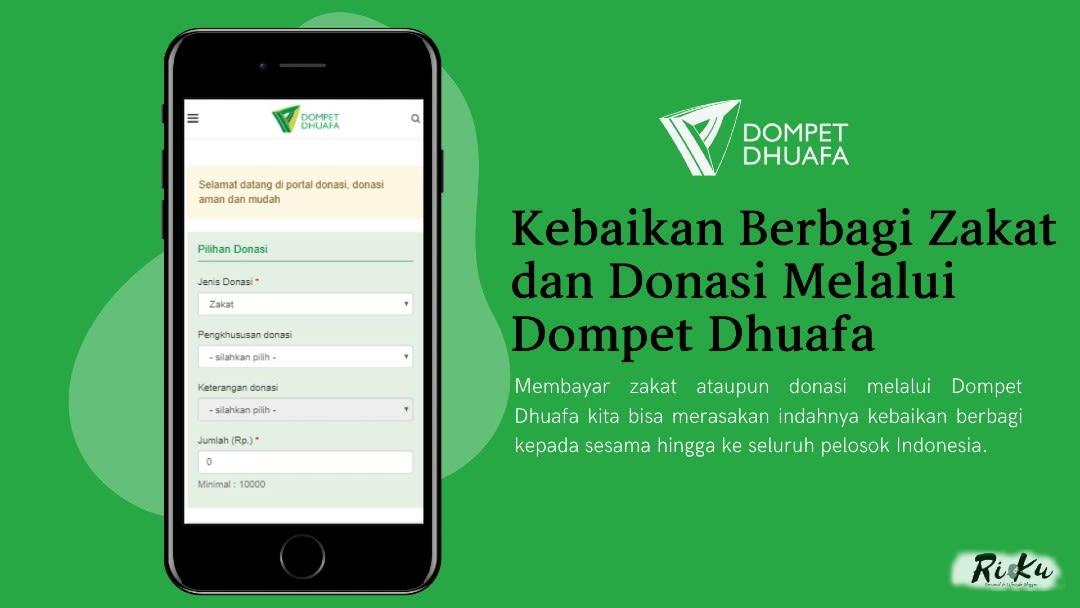 Kebaikan Berbagi Zakat dan Donasi Melalui Dompet Dhuafa