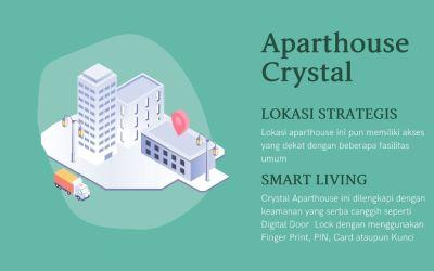 Hunian Nyaman, Aparthouse Crystal Blok M Jakarta Selatan
