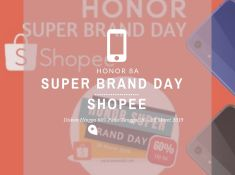 Honor 8A Shopee Super Brand Day