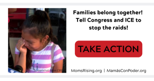 "<a href=""https://action.momsrising.org/cms/view_by_page_id/11354/?source=action"">Tell Congress and ICE to stop the raids! </a>"