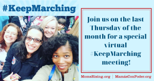 """<a href=""""https://action.momsrising.org/cms/view_by_page_id/10691/"""">Join our May #KeepMarching Virtual Meeting: Trump&#039;s Trade War &amp; American Families</a>"""