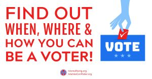 "<a href=""https://action.momsrising.org/signup/ballotready_vote/?source=action"">Find Your Local Voting Options Now!</a>"