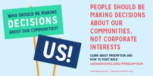 "<a href=""https://action.momsrising.org/cms/view_by_page_id/11930/?source=action"">PreEmption Stifles Local Voices and Innovation</a>"