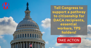 """<a href=""""https://action.momsrising.org/cms/view_by_page_id/18658/?source=action"""">Stop the roller coaster! Tell Congress to support a pathway to citizenship in the reconciliation package!</a>"""