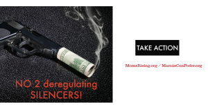 """<a href=""""https://action.momsrising.org/cms/view_by_page_id/5110/?source=action"""">Tell Congress: DON'T Deregulate Silencers!</a>"""