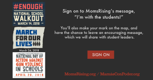 """<a href=""""https://action.momsrising.org/cms/view_by_page_id/6906/?source=action"""">Make Your Mark -> I'm With The Students!</a>"""