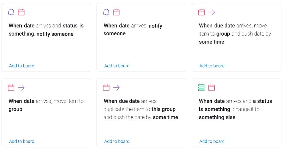 Automate scheduling workflows monday.com
