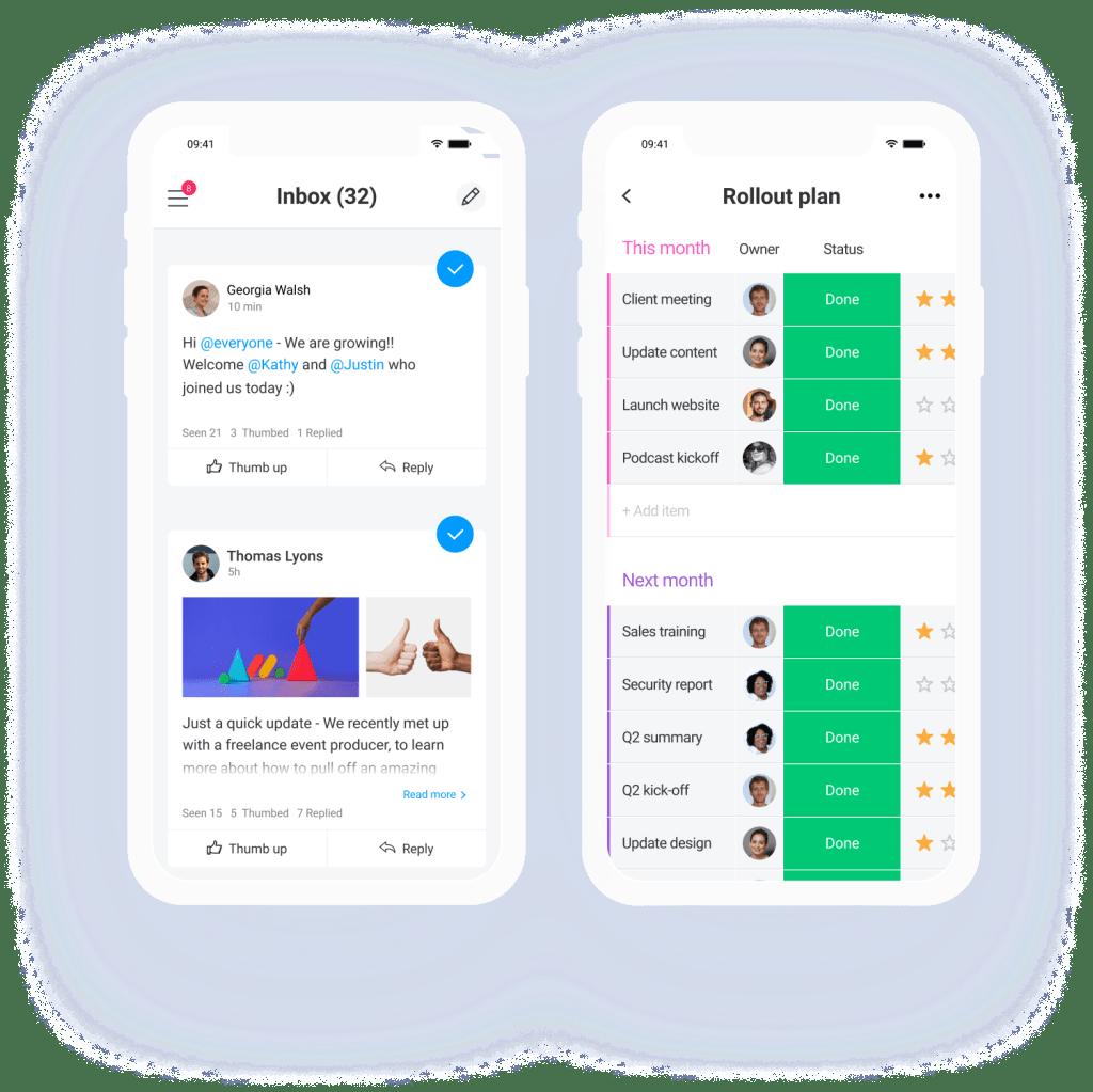 mobile app monday.com