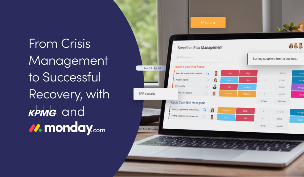 Watch Now: From Crisis Management to Successful Recovery with KPMG and monday.com