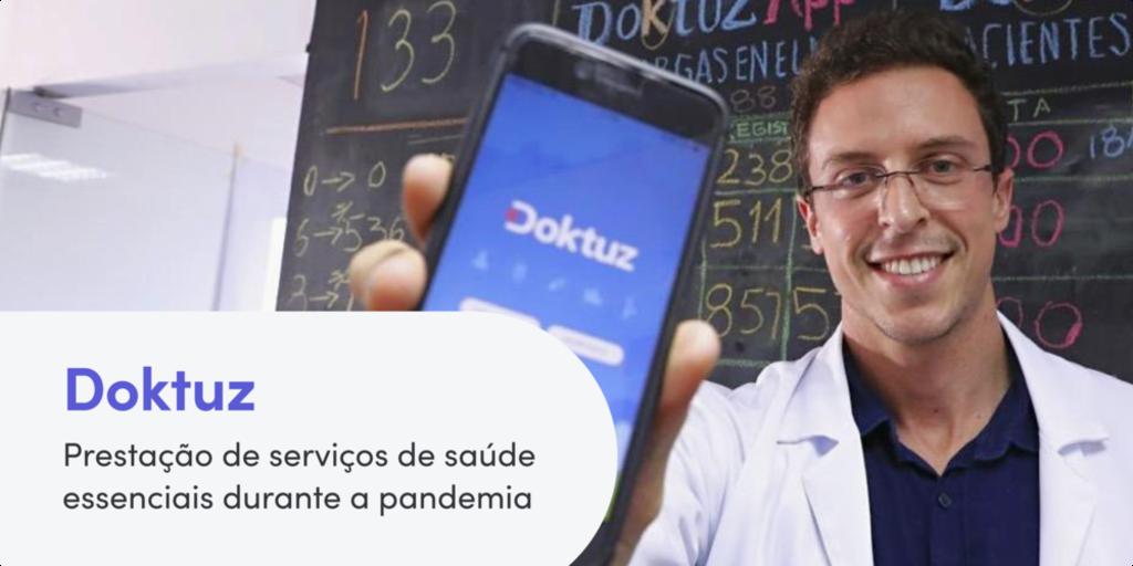 Como Doktuz está prestando serviços críticos de saúde durante a COVID-19