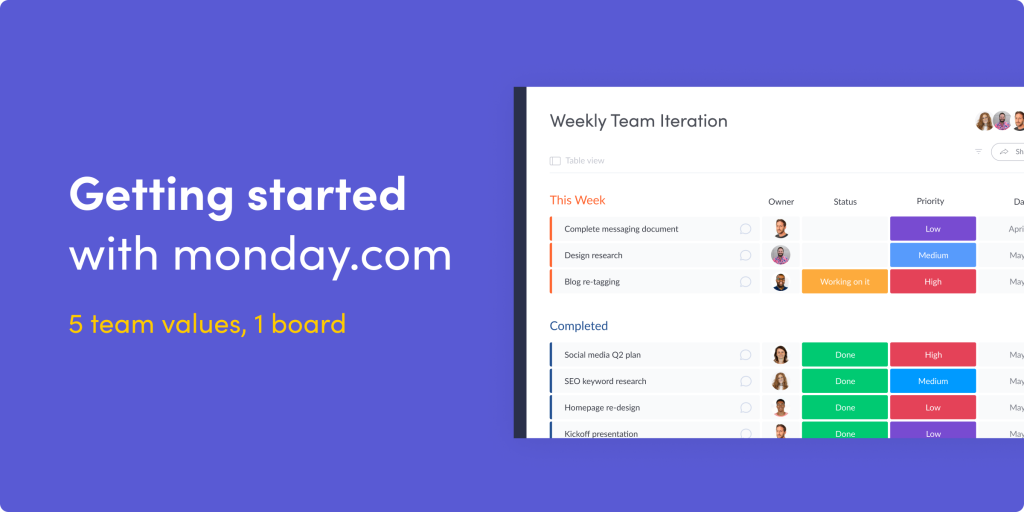 How to get started with monday.com