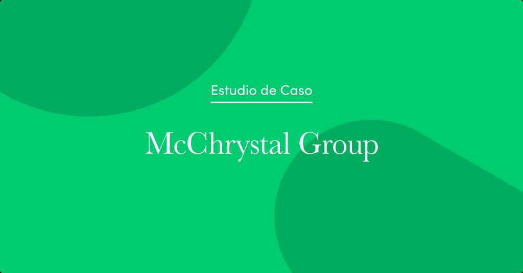 Conoce cómo McChrystal Group aumentó sus ingresos en un 60 % en medio de la pandemia de COVID-19