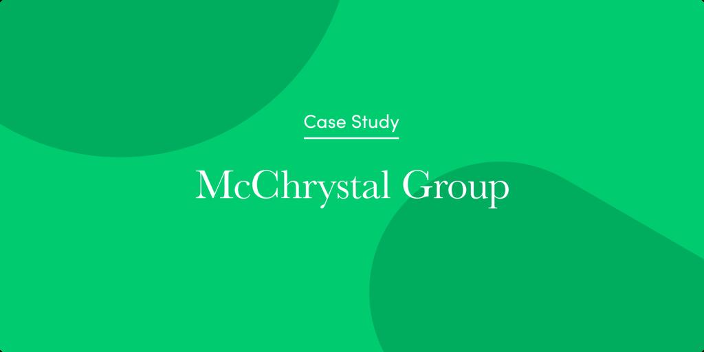 Como o McChrystal Group aumentou sua receita em 60% em meio ao surto de COVID-19