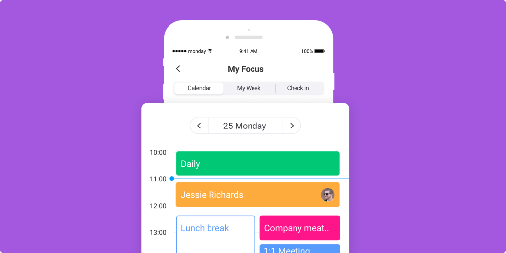 My Focus: The new monday.com personal digital planner to get your week in order