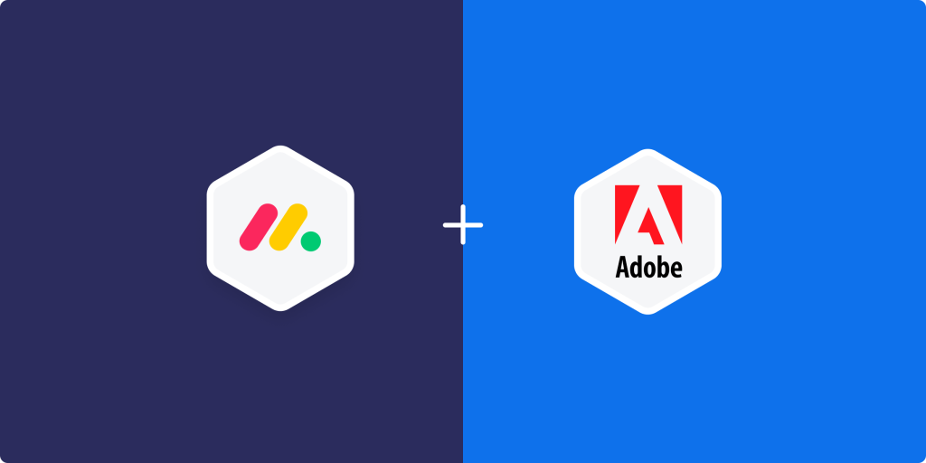 The new monday.com and Adobe Creative Cloud integration!