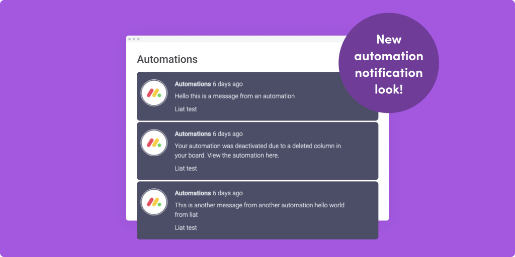 Updated automation notifications look, audio file preview updates, and more!