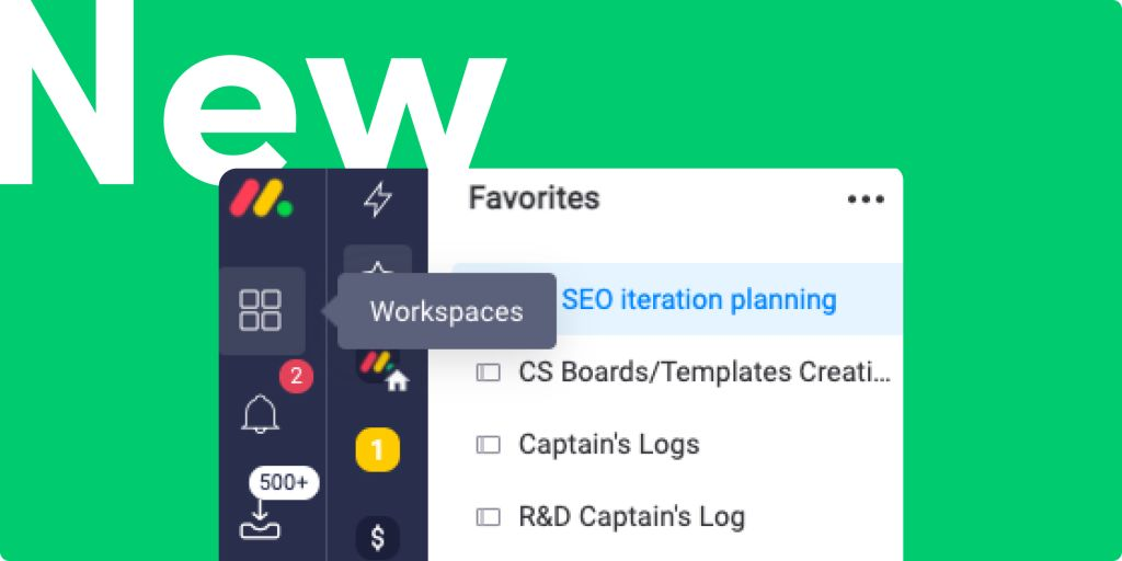 New workspace button feature, automation recipe updates, and more!