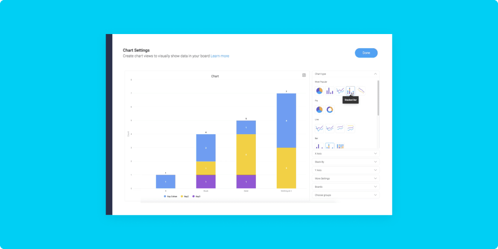 Captain's log: New feature updates including improved stacked bar charts and more!