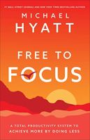 Productivity books: Free to Focus bookcover