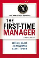 management books: The First-Time Manager