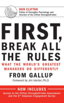 management books: first, Break All The Rules