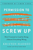 management books: Permission to Screw Up
