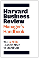 management books: The Harvard Business Review Manager's Handbook