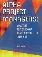 Project management books: Alpha Project Managers