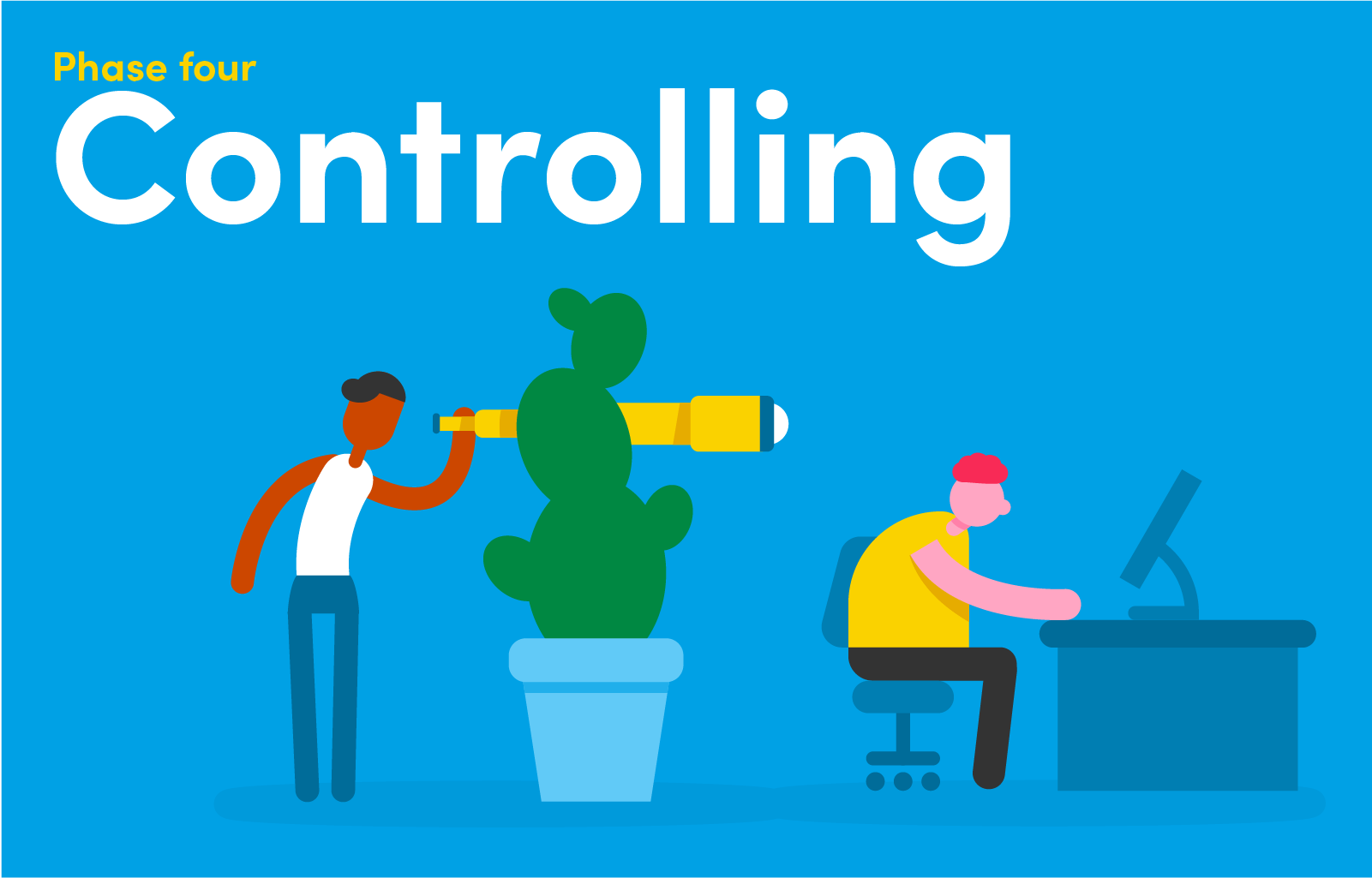 The controlling phase of a project