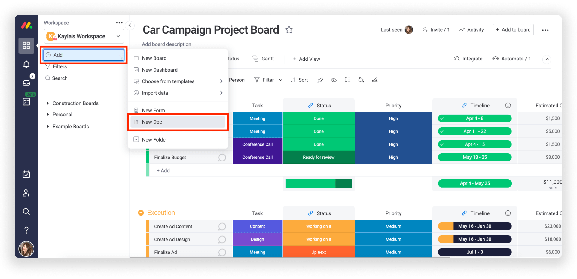 Using Docs to elevate your project management.