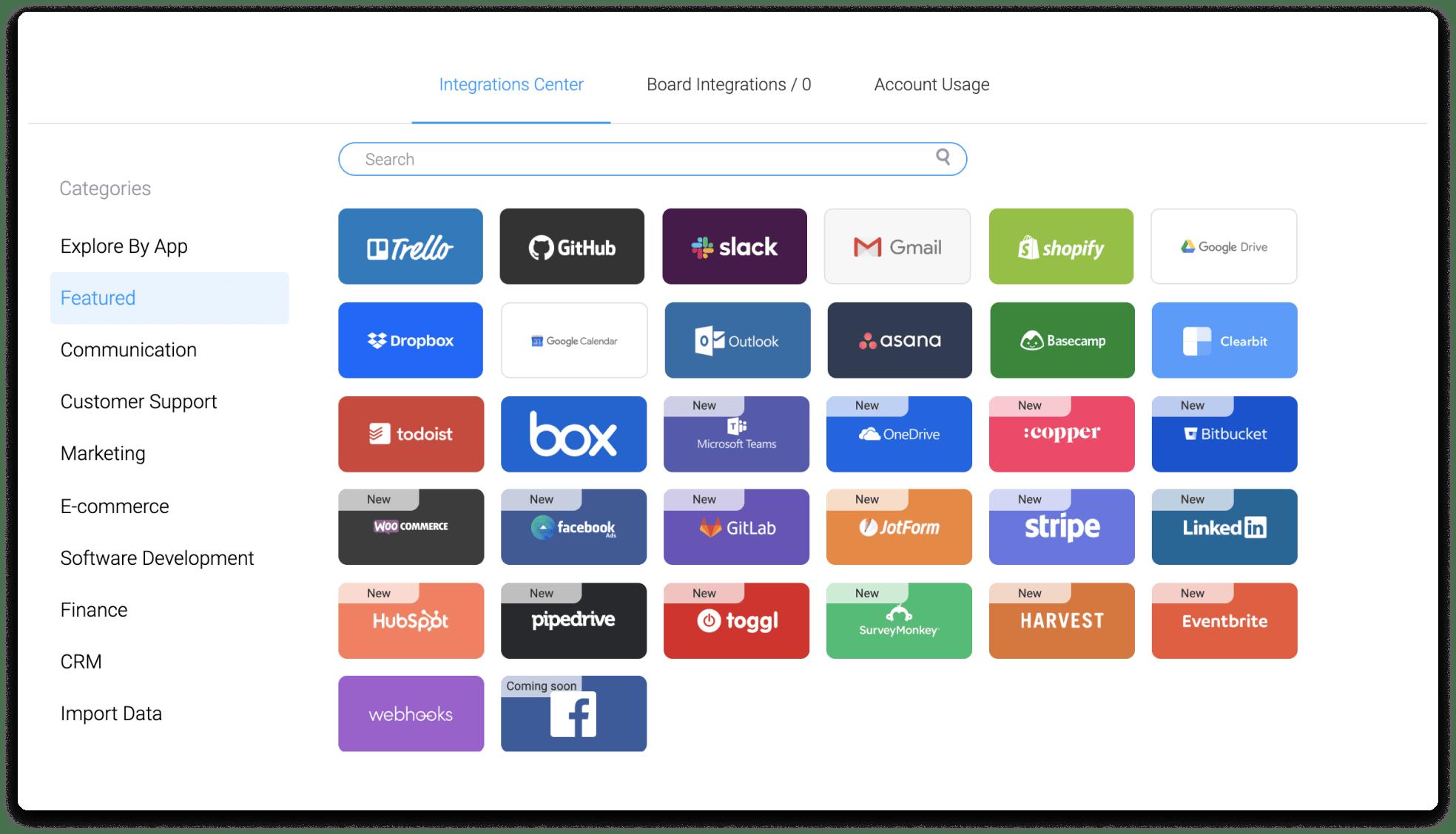 monday.com integration