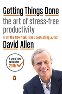 Productivity books: Getting Things Done - Art of Stress-Free Productivity bookcover