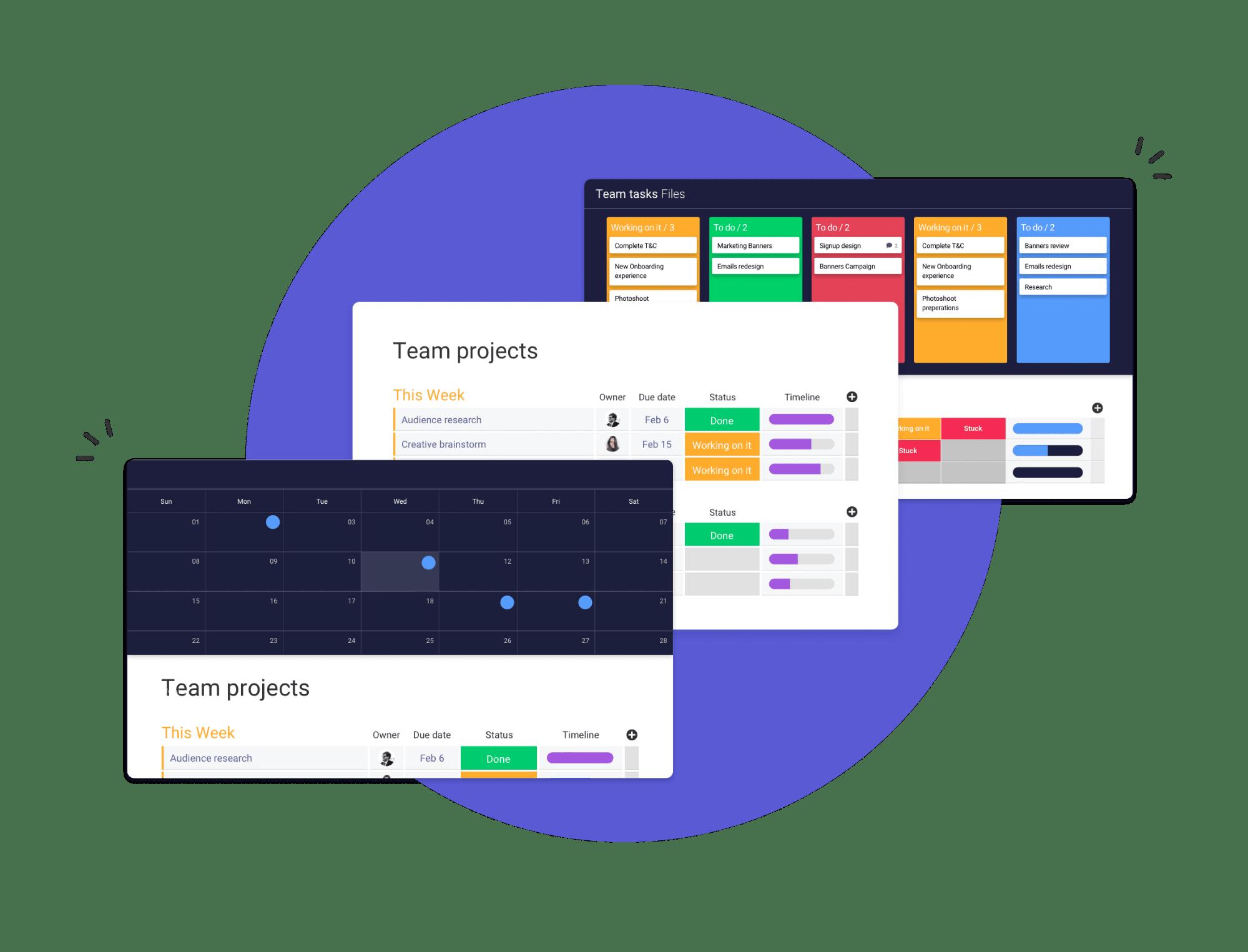 monday.com workflow management