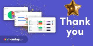 Monday.com raises $150 million in Series D funding!