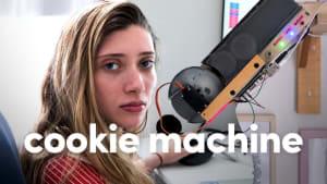 Pourquoi avons-nous fabriqué une machine à biscuits? Pour rien.